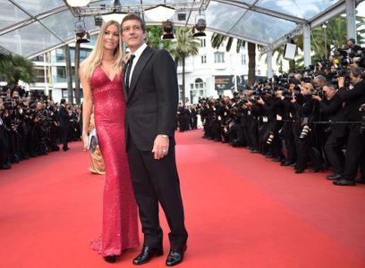 Antonio Banderas et Nicole Kempel au Festival de Cannes 2015