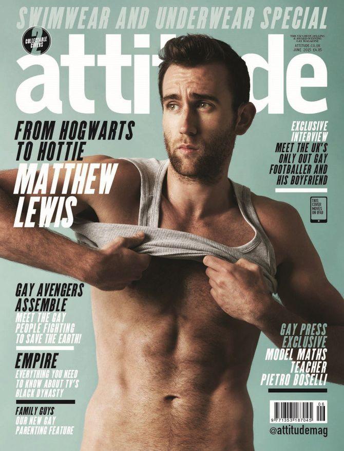 Matthew Lewis pour Attitude