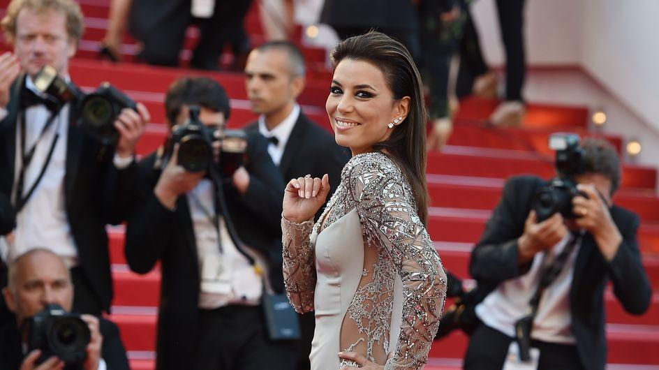 Eva Longoria déchaînée à Cannes (Vidéo)