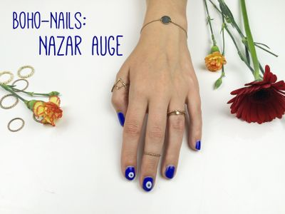 Boho-Nails: Nazar Auge