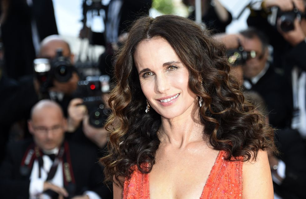 Andie MacDowell n'est pas allée à Cannes par peur d'être moquée pour son physique