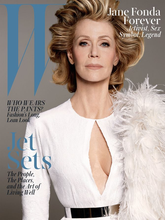 Jane Fonda, W Magazine