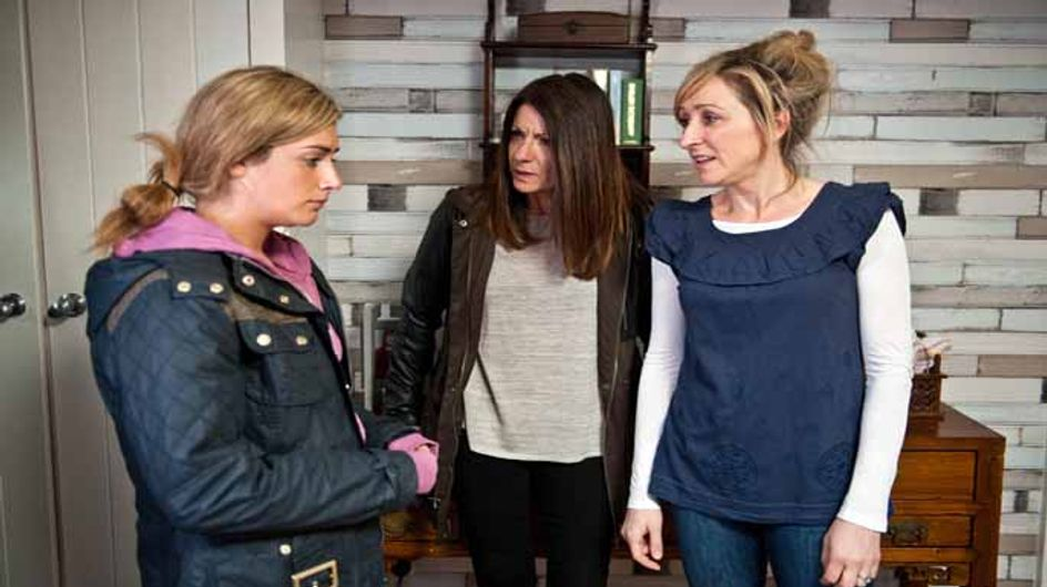 Emmerdale 4/06 - Harriet rows with Laurel when she realises she's drunk at Ashley's bedside