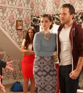 Hollyoaks 3/06 - Reenie accuses Porsche of lying