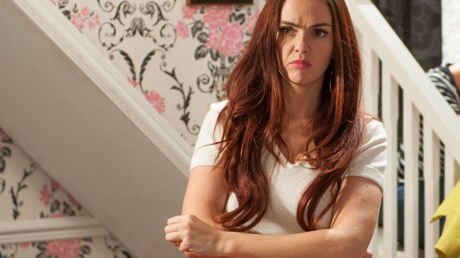 Hollyoaks 4/06 - Sienna notices an expensive painting is missing