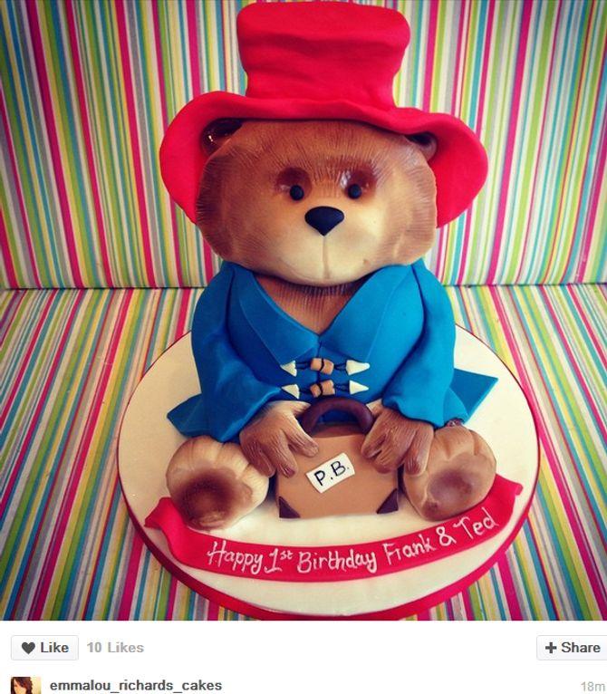Gâreau anniversaire Paddington