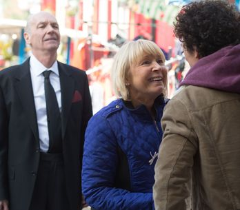Eastenders 2/06 - Sharon struggles to come to terms with seeing her biological father