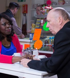 Eastenders 5/06 - Jane and Ian reel from Cindy's ultimatum
