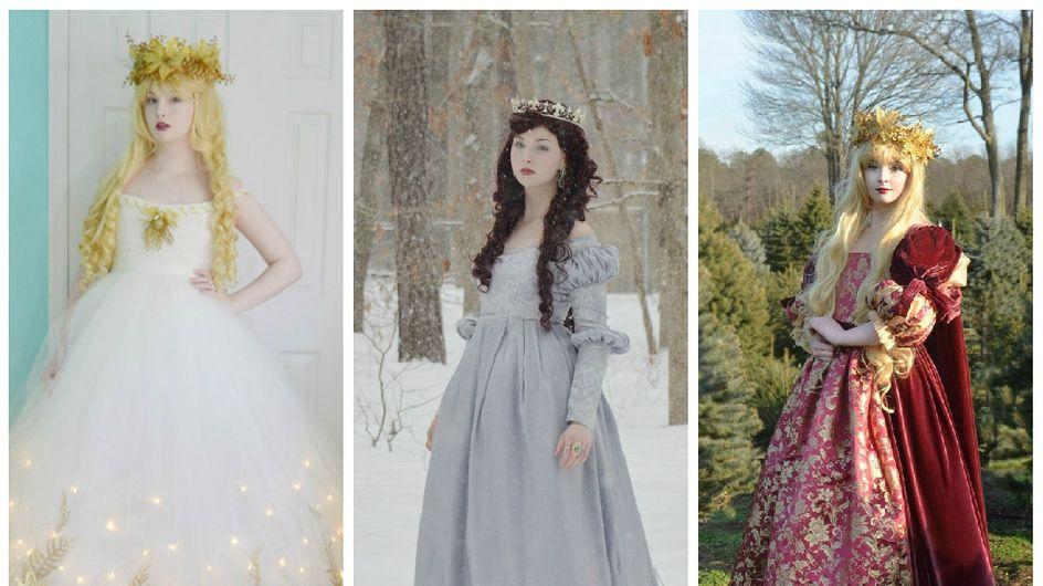 A seulement 18 ans, elle crée des robes de princesse absolument féeriques (Photos)
