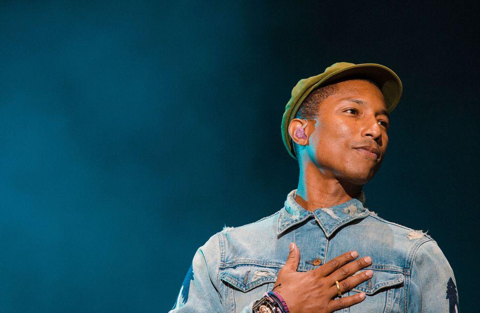 Pharrell Williams signe une nouvelle collection fleurie pour Adidas (Photos)