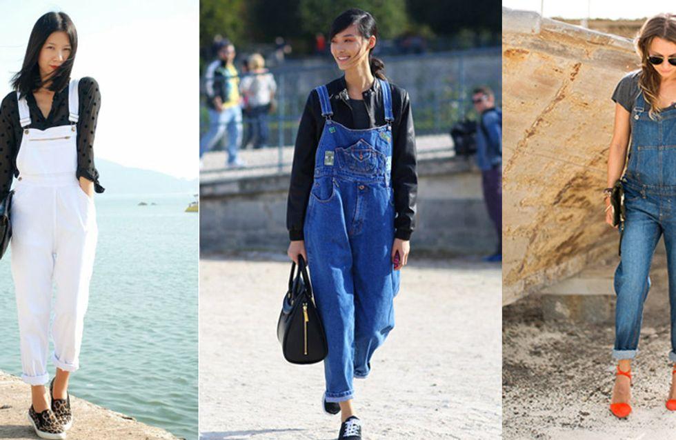30 looks para usar macacão jeans com pegada cool