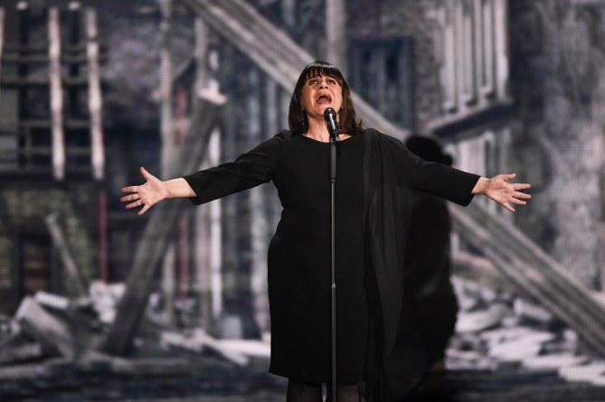 Lisa Angell (France) à l'Eurovision