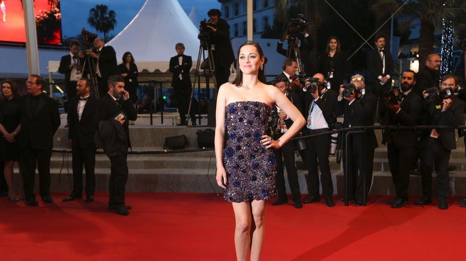 Nouveau carton mode sur la Croisette pour Marion Cotillard (Photos)