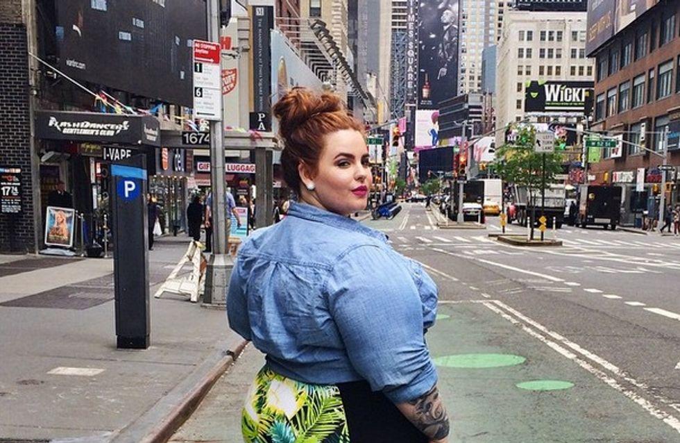 Tess Holliday, plus grand top plus size, premier modèle grande taille en couverture de People