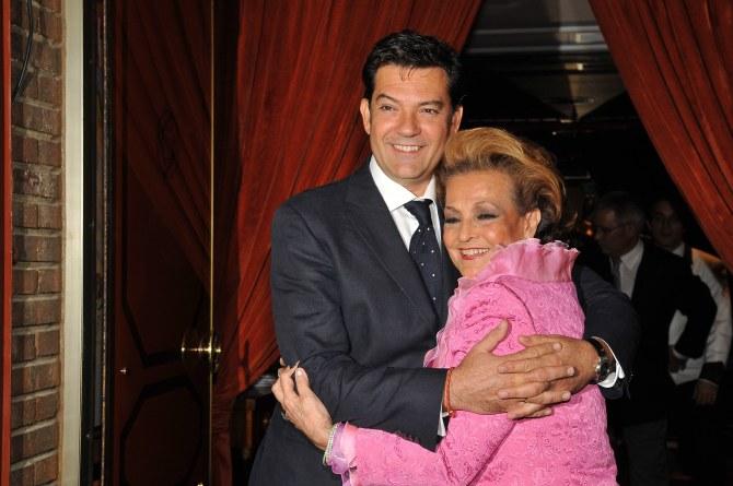 Carmen Sevilla y su hijo