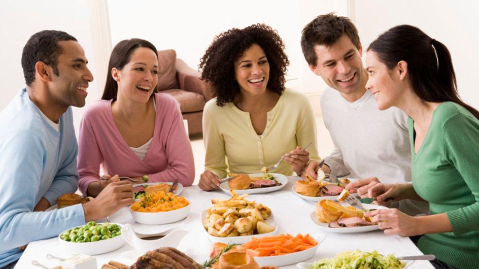 Pour perdre du poids, choisissez bien ceux avec qui vous mangez