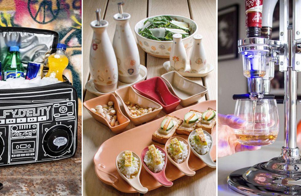 10 accessori per organizzare un perfetto happy hour in giardino o sul terrazzo