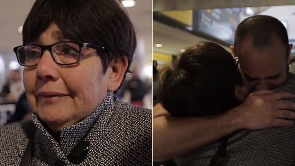 Nach 42 Jahren kann diese Mutter endlich wieder ihren Sohn in den Arm nehmen