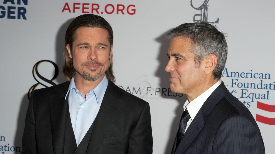 Brad Pitt arrêté à cause de George Clooney