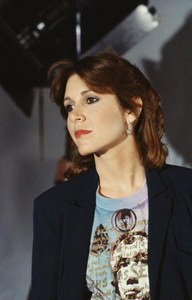 Carrie Fisher dans 'Classic Creatures: Return Of The Jedi', en 1983