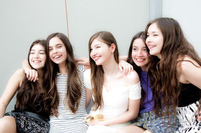 Les cinq actrices au Festival de Cannes 2015