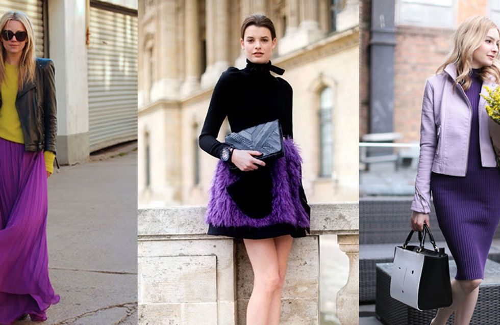 Outfit Inspiration! 30 Reasons To Start Wearing Purple ASAP