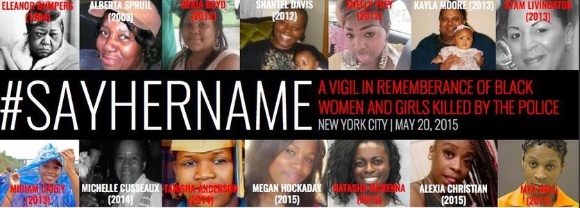 #SayHerName, pour nommer les femmes noires