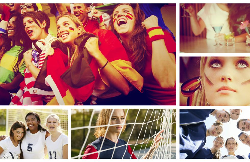 Rudelgucken: 10 Dinge, die bei einem Fußball-Mädelsabend auf keinen Fall fehlen dürfen