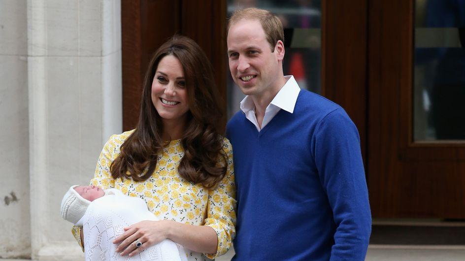 La famille Middleton aux petits soins pour Kate et la princesse Charlotte