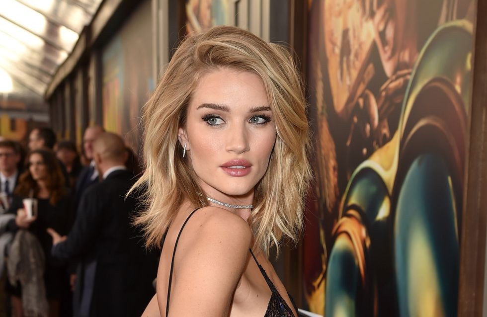 Rosie Huntington-Whiteley se dénude pour le magazine Lui (Photos)