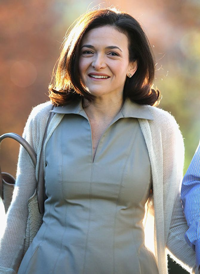 Sheryl Sandberg, chefe operacional do Facebook