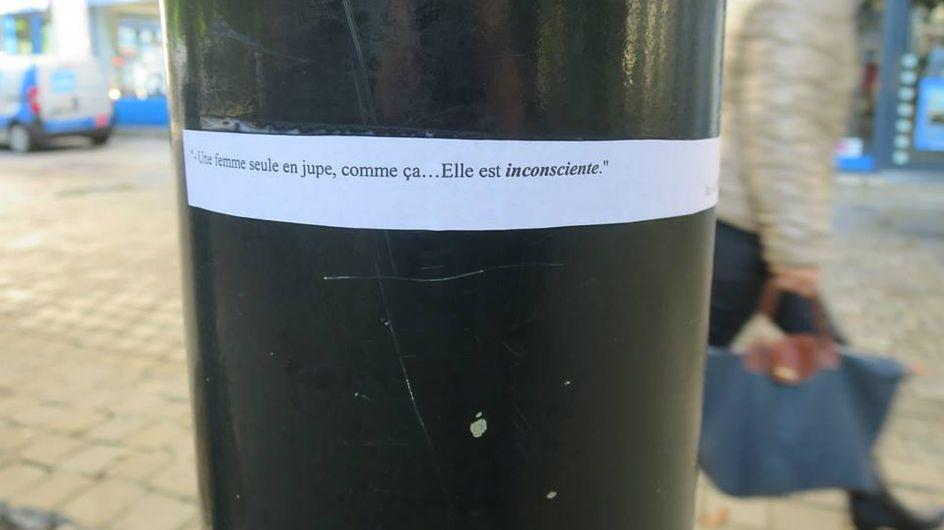 Le percutant projet d'une lycéenne contre le sexisme à Nantes