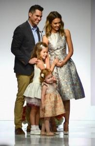 Jessica Alba et sa famille