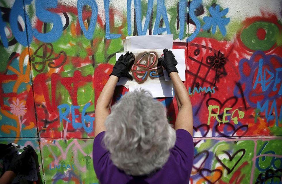 Ancianos grafiteros: una historia contra los estereotipos