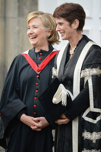Hillary Clinton & Louise Richardson