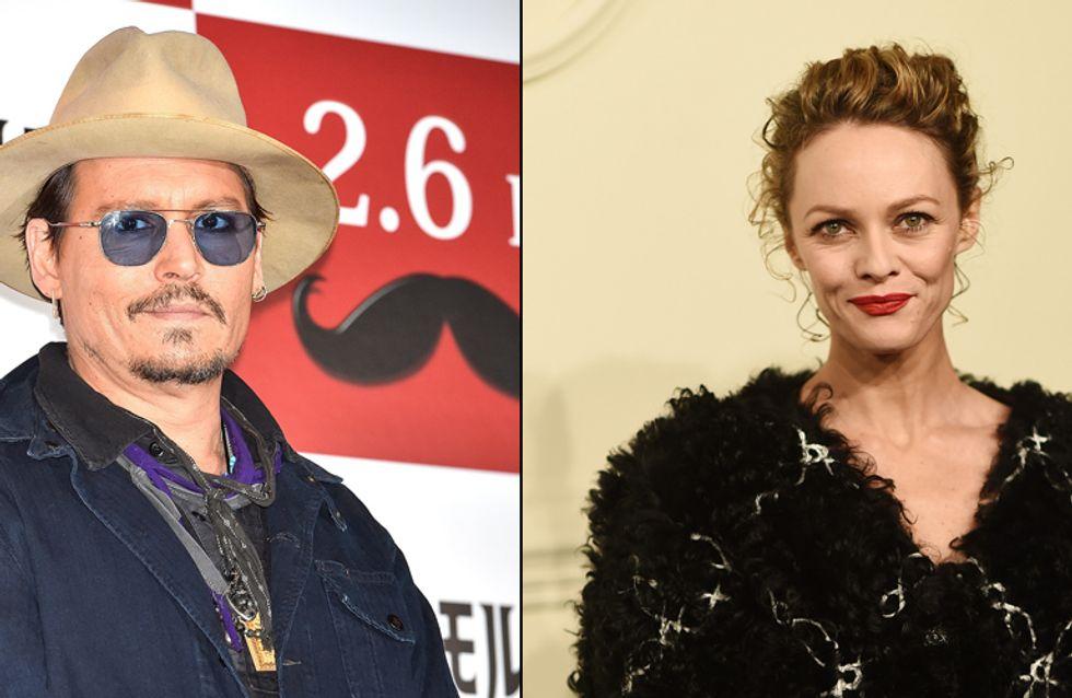 Vanessa Paradis et Johnny Depp réunis pour les 16 ans de leur fille Lily-Rose