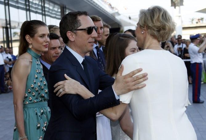 Gad Elmaleh et Charlène de Monaco