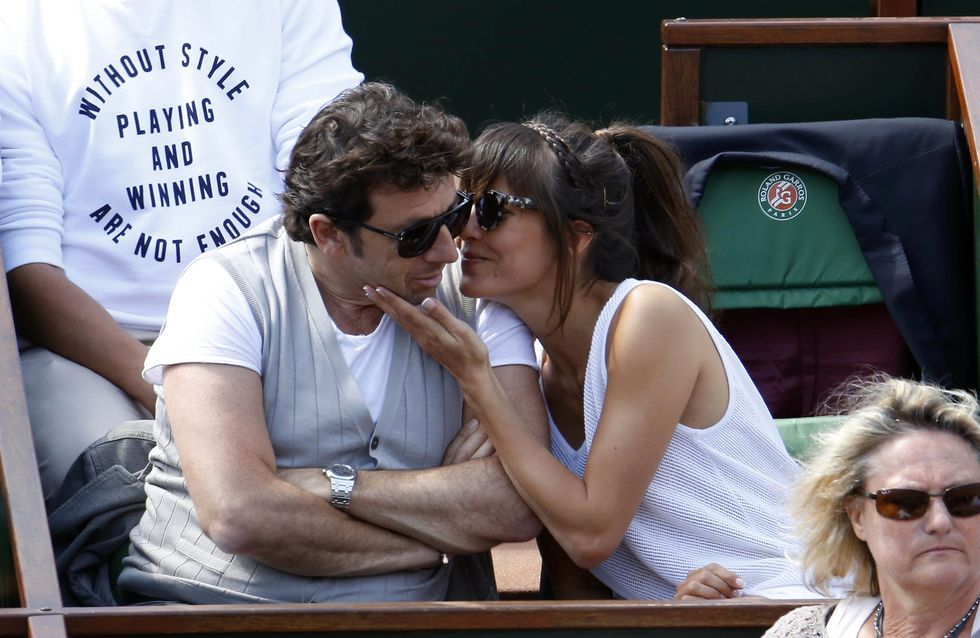 Patrick Bruel en couple, Anna Wintour souriante… Les peoples s'éclatent à Roland Garros ! (Photos)