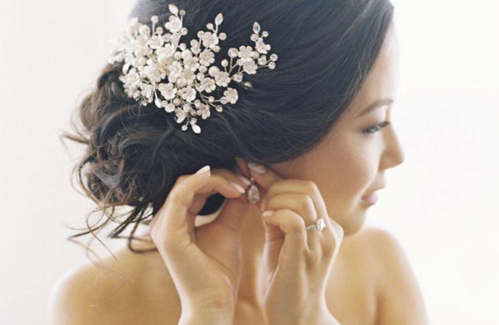 Ecco i 50 migliori accessori per capelli per il tuo matrimonio