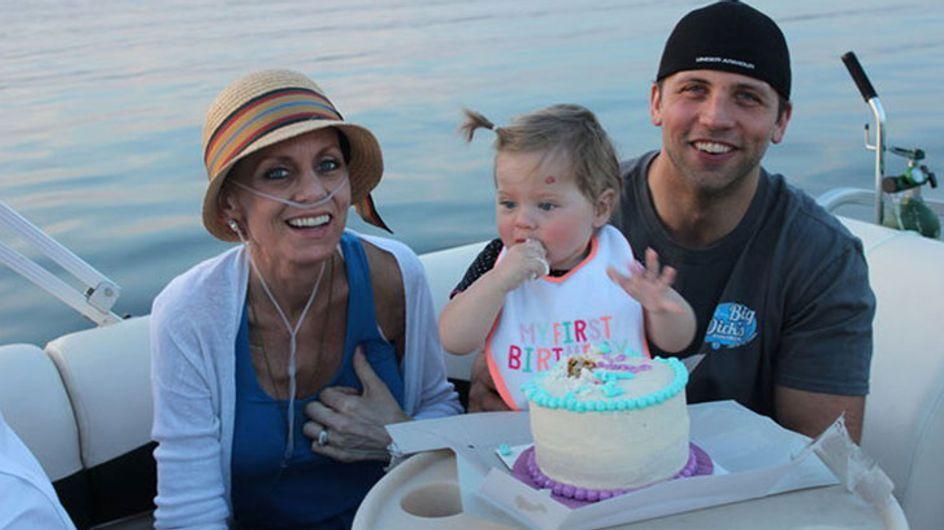 Esta mamá quiso celebrar de forma especial el cumpleaños de su hija durante su último día de vida