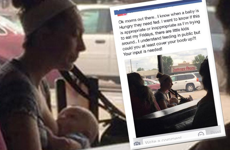 Öffentlich bloßgestellt, weil sie ihren Sohn stillte - So wehrt sich eine Mutter gegen den Täter