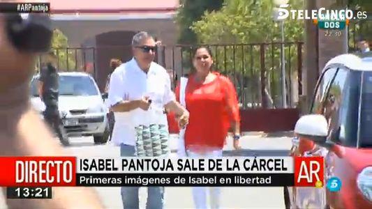Salida de Isabel Pantoja de prisión