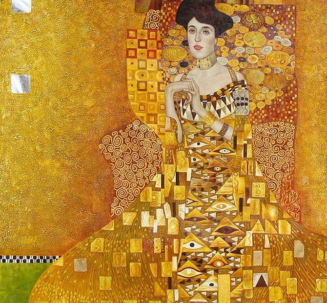 Tableau de Gustave Klimt - le portrait d'Adèle