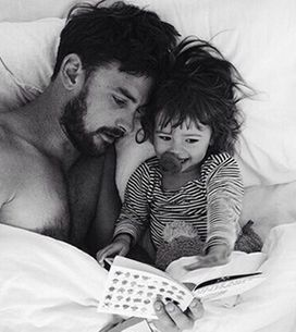 20 Pictures Of Hot Men With Babies That Will Make Your Ovaries Explode