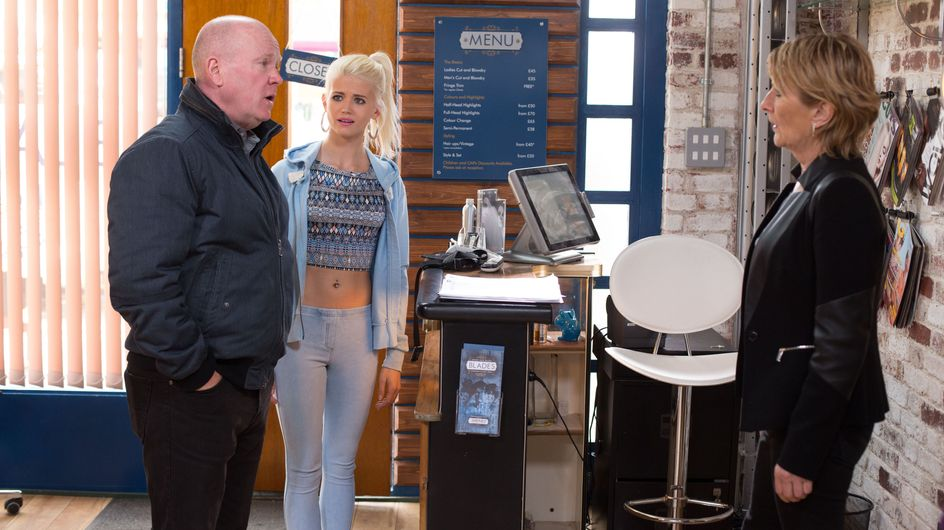 Eastenders 12/06 - Shirley comes clean to Buster