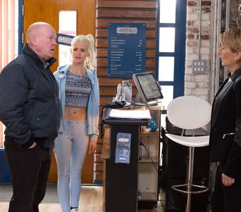 Eastenders 11/06 - It's the opening day of 'Masala Masood'