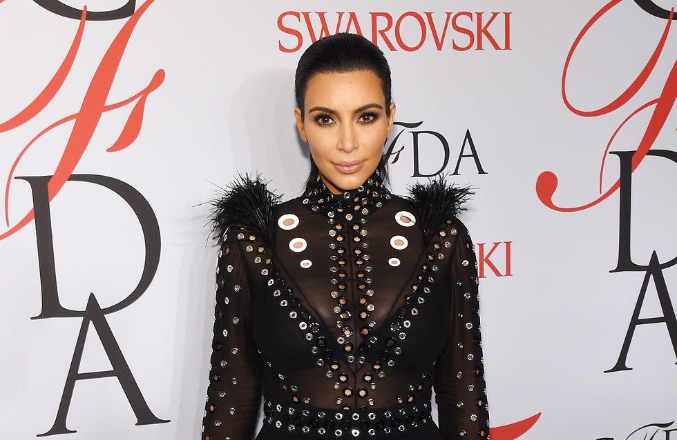 Kim Kardashian à propos de sa grossesse : Je peux à peine sortir du lit