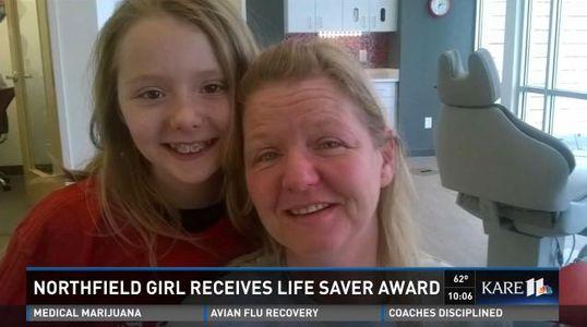 A seulement 11 ans, cette fillet a sauvé la vie de sa maman