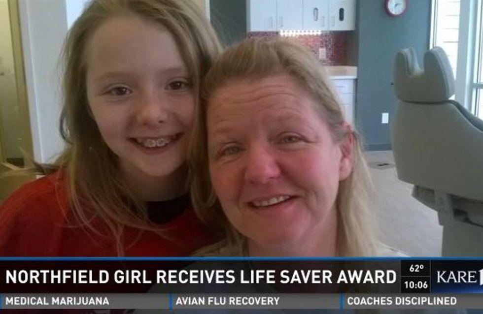 A seulement 10 ans, cette fillette a sauvé la vie de sa maman
