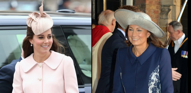 Kate Middleton - Carole Middleton